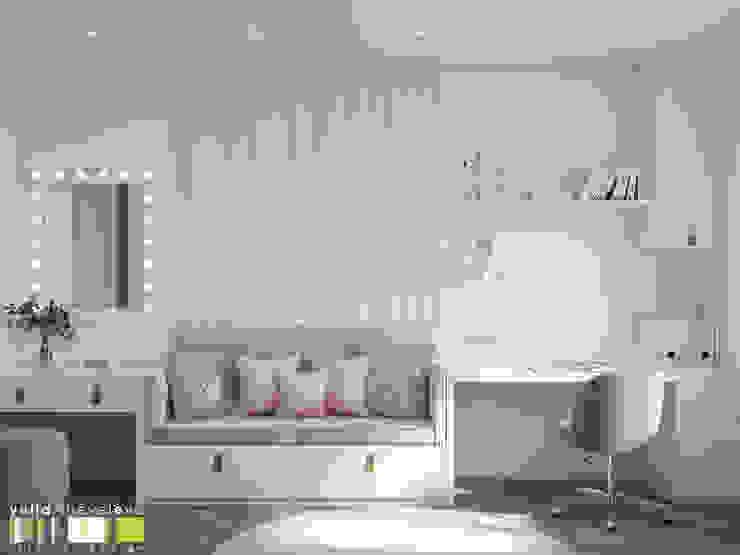 Habitaciones para niños de estilo ecléctico de Мастерская интерьера Юлии Шевелевой Ecléctico