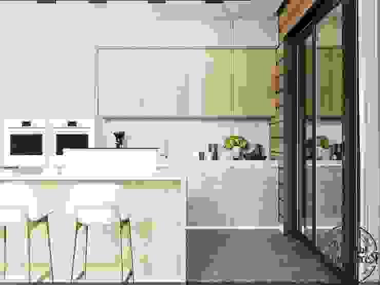 Интерьер гостиной в авто-стиле Гостиные в эклектичном стиле от Компания архитекторов Латышевых 'Мечты сбываются' Эклектичный