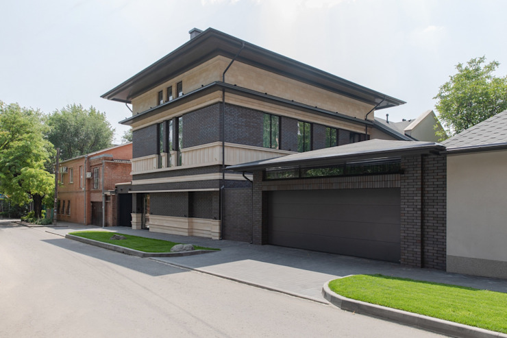 ArDesi Eclectic style houses Concrete Beige