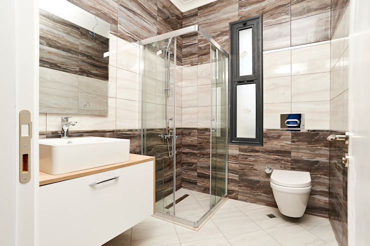 Modern style bathrooms by NAZZ Design Studio Modern