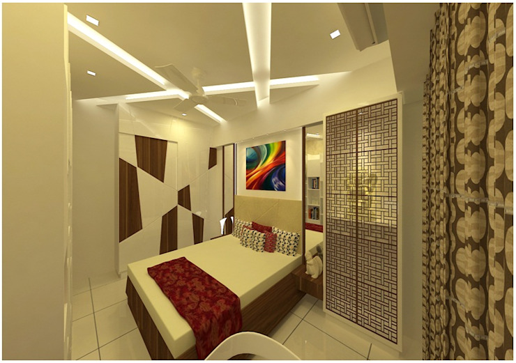 Bedroom 1 Minimalist bedroom by SPACE DESIGN STUDIOS Minimalist