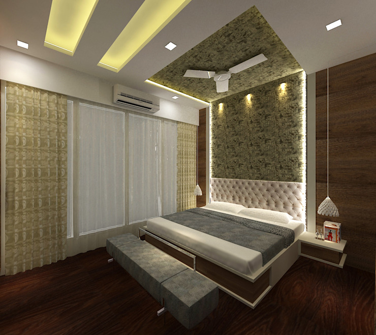 Master Bedroom Minimalist bedroom by SPACE DESIGN STUDIOS Minimalist