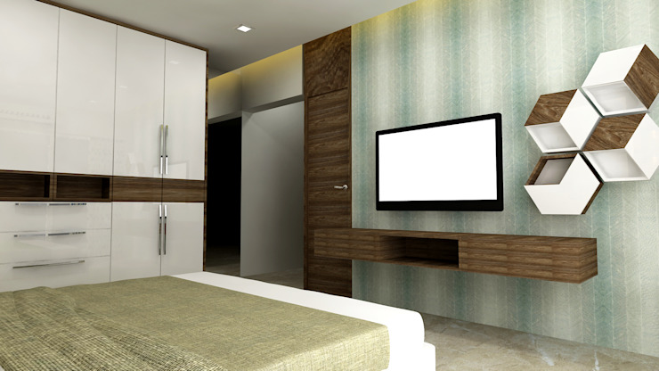 Daughter Bedroom Modern style bedroom by SPACE DESIGN STUDIOS Modern