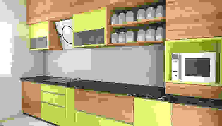 Kitchen Modern kitchen by SPACE DESIGN STUDIOS Modern