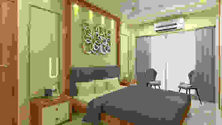 Master Bedroom Modern style bedroom by SPACE DESIGN STUDIOS Modern
