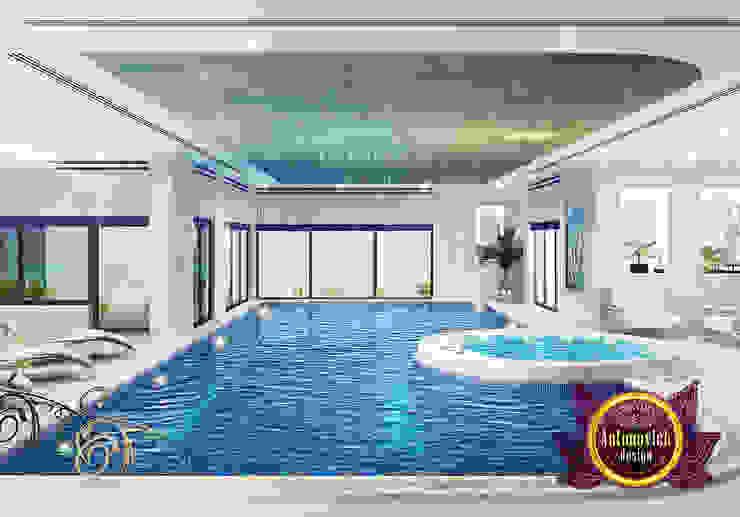 Extravagant Indoor Swimming Pool by Luxury Antonovich Design