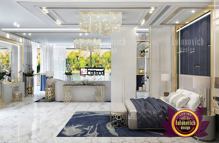 Prime Interior Design for The Richest by Luxury Antonovich Design