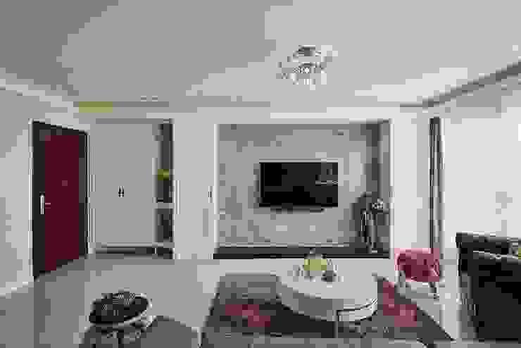 客廳主面牆 根據 趙玲室內設計 古典風