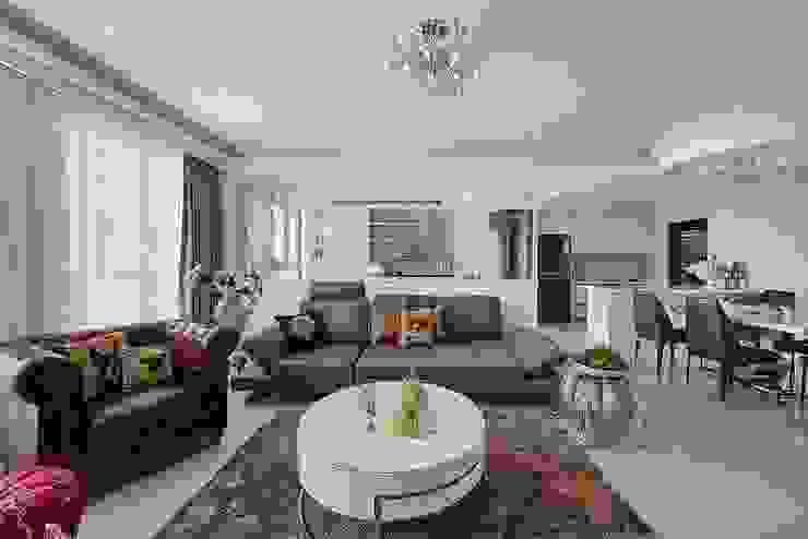 客廳與書房的通透 根據 趙玲室內設計 古典風