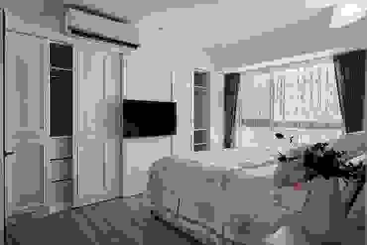 主臥室-櫃體空間 根據 趙玲室內設計 古典風
