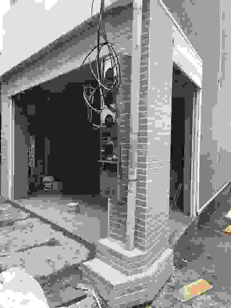 鋪貼磁磚-外牆貼二丁掛 根據 houseda