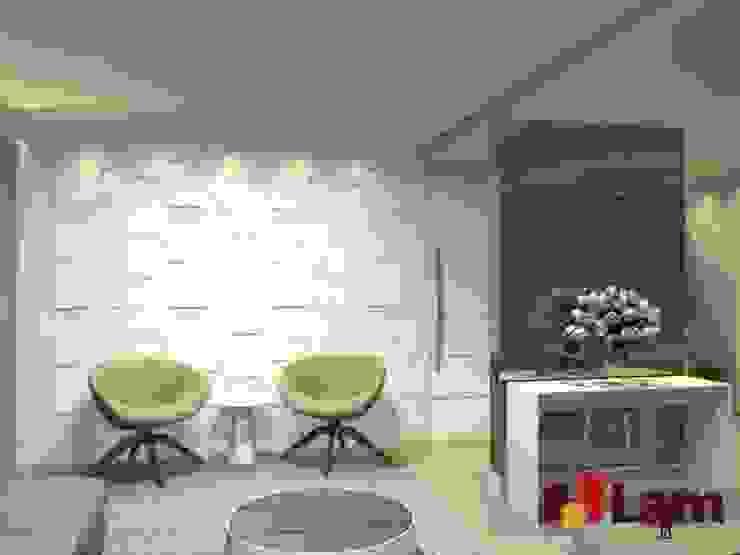 Residência - Planalto Paulista Salas de estar modernas por LAM Arquitetura   Interiores Moderno
