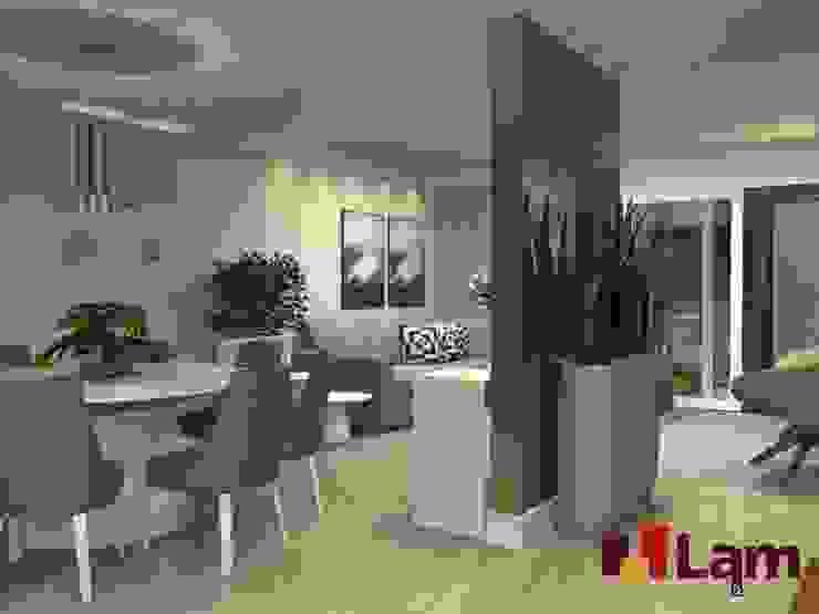 Residência - Planalto Paulista Salas de jantar modernas por LAM Arquitetura   Interiores Moderno