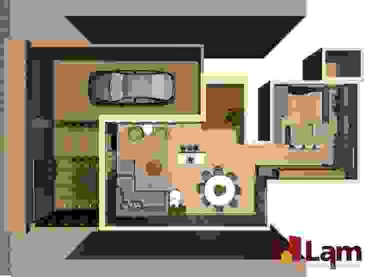 Residência - Planalto Paulista Casas modernas por LAM Arquitetura   Interiores Moderno