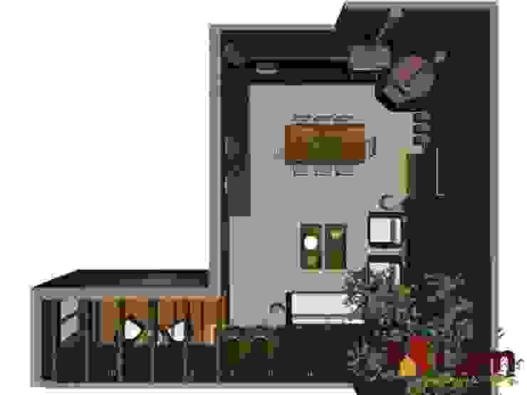 Residência - Planalto Paulista por LAM Arquitetura   Interiores Moderno