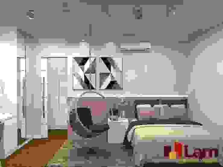 Residência - Planalto Paulista Quartos modernos por LAM Arquitetura   Interiores Moderno