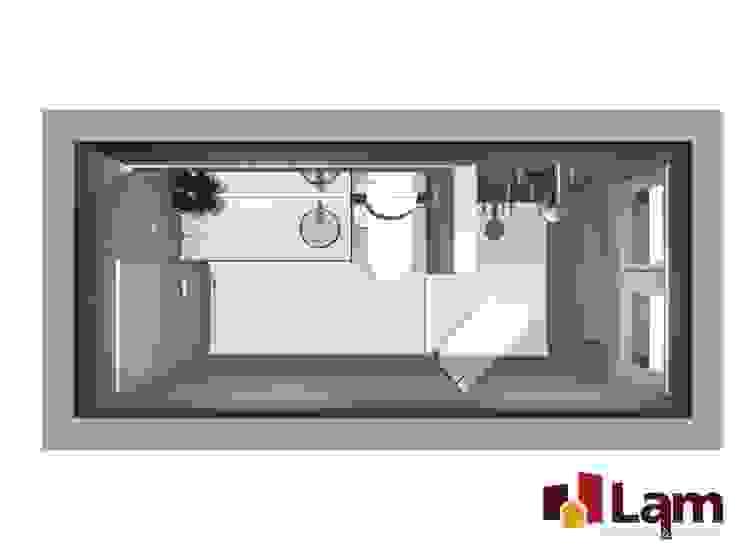 Residência - Planalto Paulista Banheiros modernos por LAM Arquitetura   Interiores Moderno