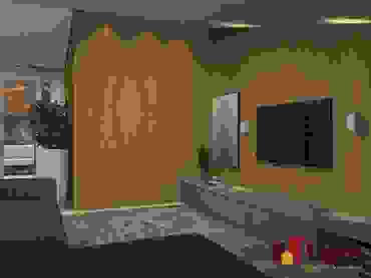 Residência - Planalto Paulista Escritórios modernos por LAM Arquitetura   Interiores Moderno