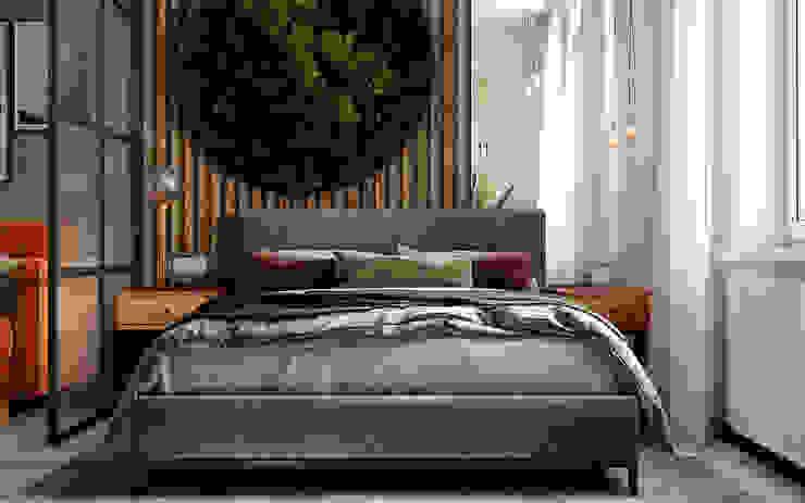 Уютный loft от Студия NATALYA SOLNTSEVA Interiors Design Лофт Дерево Эффект древесины