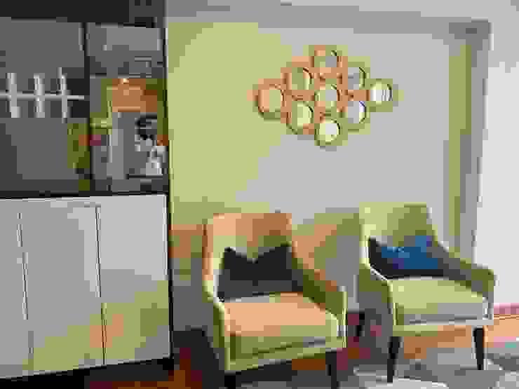 Espejo decorativo Salas modernas de Shirley Palomino Moderno