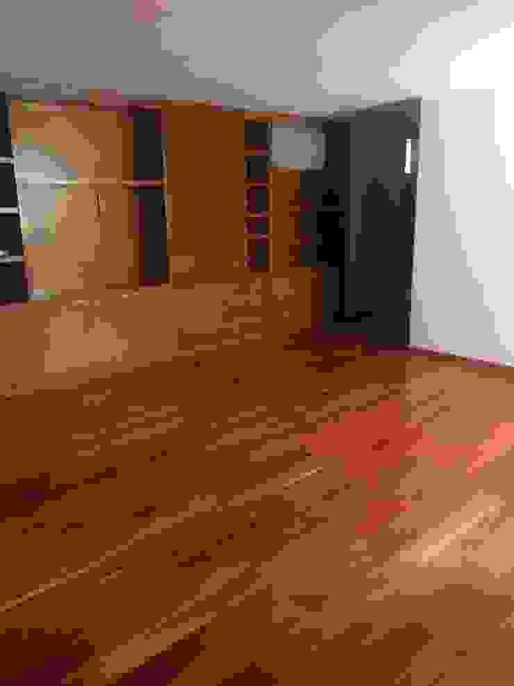 dula demadera y mueble sala tv MAG constructions VestidoresAccesorios y decoración Madera