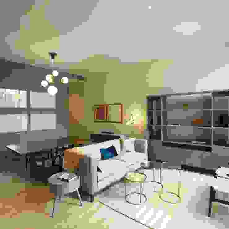 MOKALI Carpintería Residencial Living roomSofas & armchairs