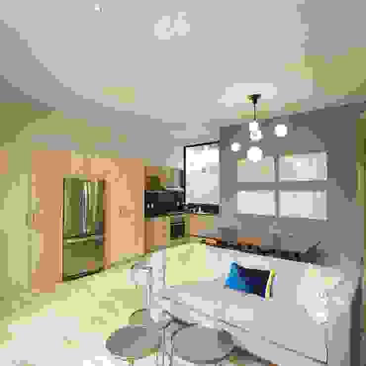 Cocina. de MOKALI Carpintería Residencial Moderno