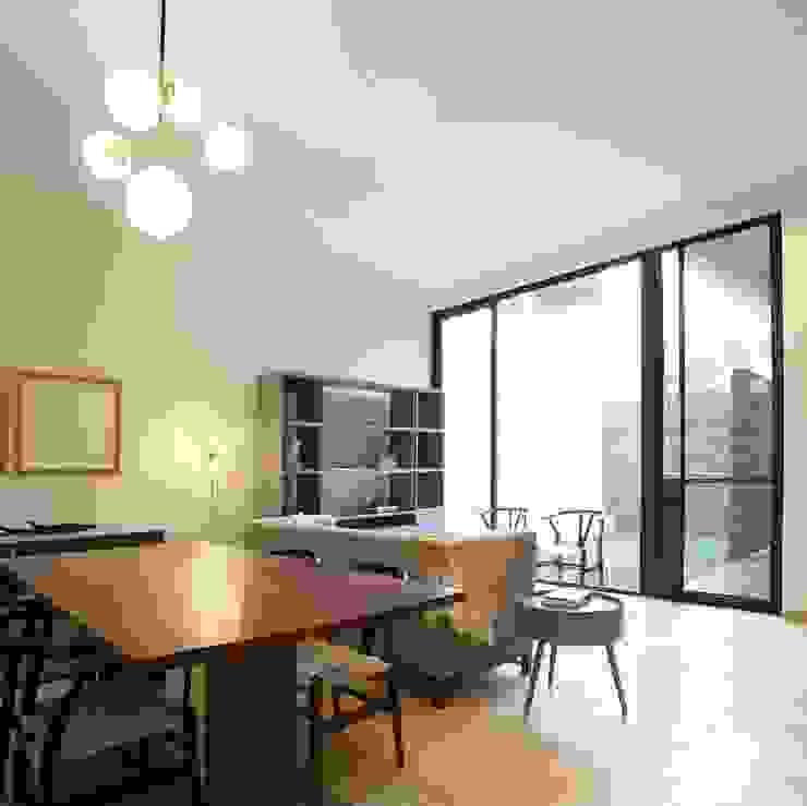 Mobiliario. de MOKALI Carpintería Residencial Moderno