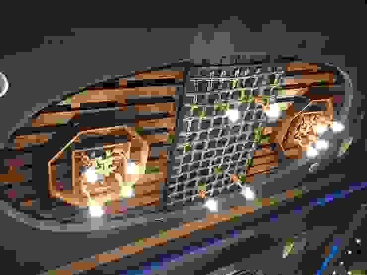 Eriş Ahşap Tasarım 室內景觀 木頭 Wood effect