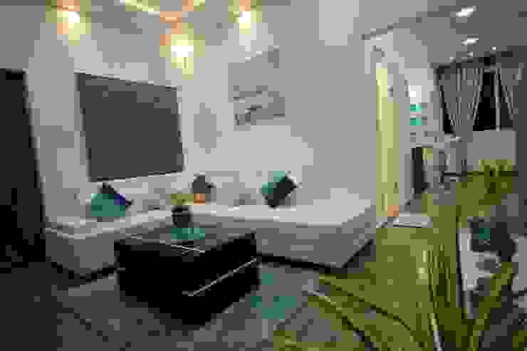 Elegant Living Room Modern living room by Enrich Interiors & Decors Modern