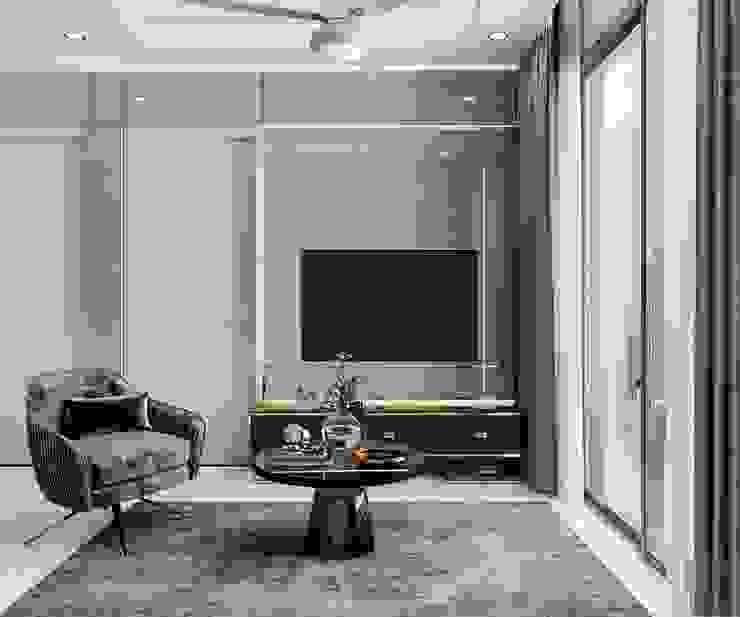 Thiết kế nội thất căn hộ SAIGONMIA – Khoảng trời của riêng tôi bởi ICON INTERIOR Hiện đại