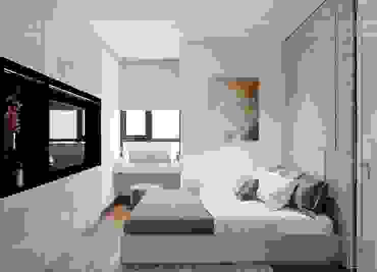 Thiết kế nội thất căn hộ SAIGONMIA – Khoảng trời của riêng tôi Phòng ngủ phong cách hiện đại bởi ICON INTERIOR Hiện đại