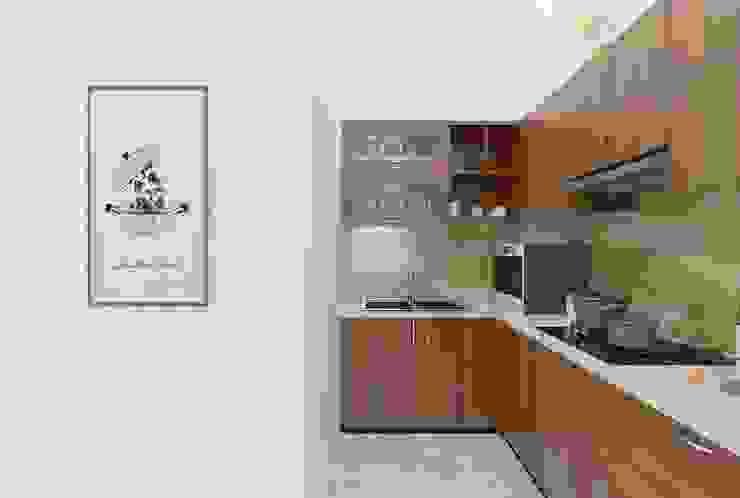 Nhà Chị Huyền Bình Định bởi Công ty TNHH Thiết Kế Xây Dựng Xanh Hoàng Long Châu Á Bần