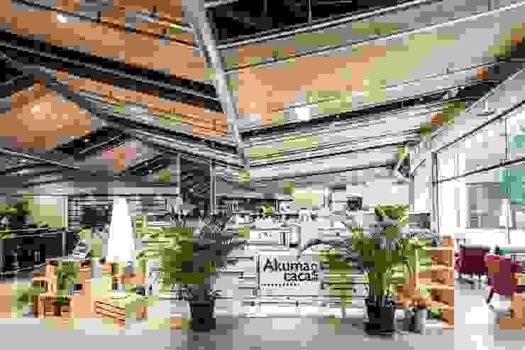 百貨展櫃外觀 根據 亚卡默设计 Akuma Design 田園風 木頭 Wood effect