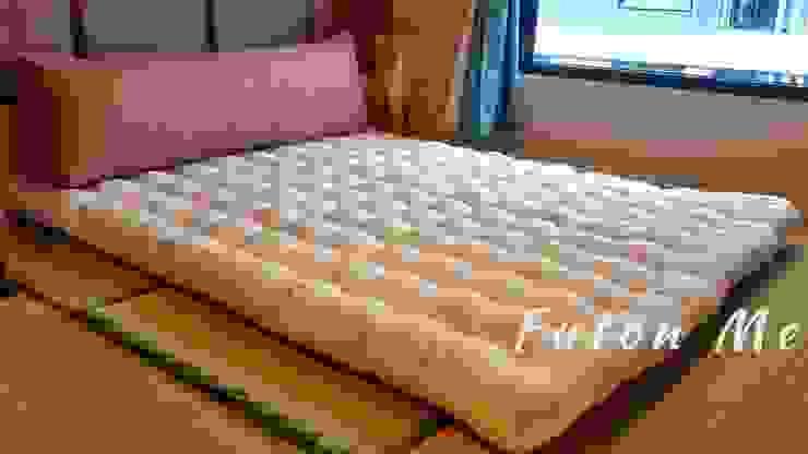 ที่นอน5ฟุต ที่นอนวางพื้น เรียบง่าย สไตล์ญี่ปุ่น เรียวกัง : เอเชีย  โดย chalaluck, เอเชียน ฝ้าย Red