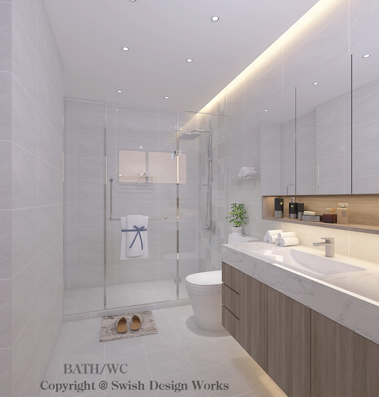 Bathroom Swish Design Works Modern bathroom White