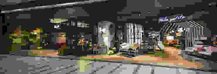 入口門面 根據 亚卡默设计 Akuma Design 工業風 金屬