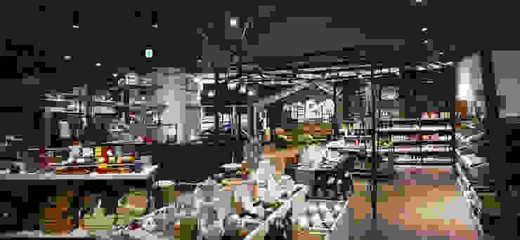 茶具區設計 根據 亚卡默设计 Akuma Design 工業風 金屬