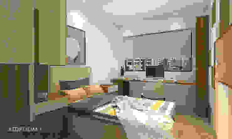 Bedroom by Swish Design Works Modern Plywood
