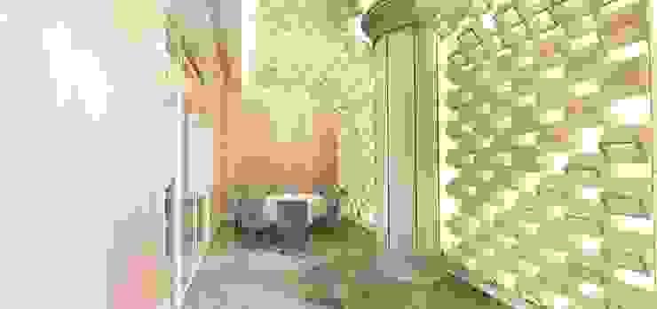 VVIP室 根據 亚卡默设计 Akuma Design 簡約風 塑木複合材料