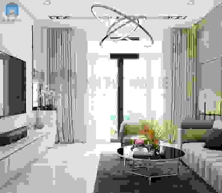 Những giây phút bình yên được đem lại từ chính ngôi nhà của bạn bởi Công ty TNHH Nội Thất Mạnh Hệ Hiện đại Gỗ Wood effect