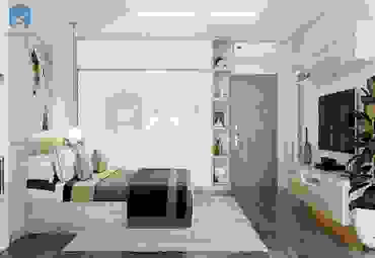Thiết kế đơn giản có thể hữu ích trong việc mở rộng không gian trong mắt của người xem bởi Công ty TNHH Nội Thất Mạnh Hệ Hiện đại Đá hoa