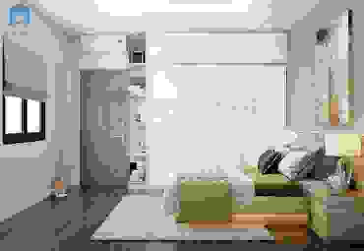 Với những người lớn tuổi thì việc trưng bày quá nhiều đồ nội thất là không cần thiết, làm sao để căn phòng trông gọn gàng và tiện nghi nhất với họ là đủ. bởi Công ty TNHH Nội Thất Mạnh Hệ Hiện đại Cao su