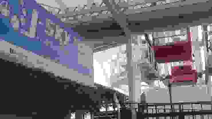 J sky Ferris Wheel, Bianglala, AEON Mall Cakung Fortuna Jaya Kreasi Pusat Perbelanjaan Tropis Komposit Kayu-Plastik White