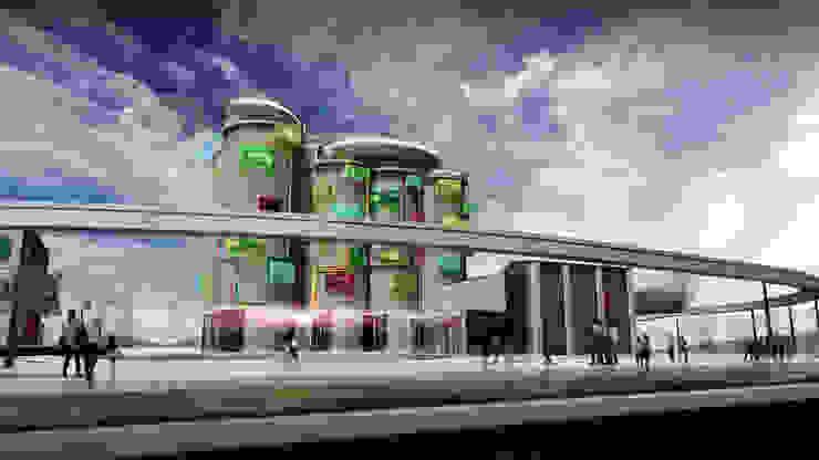 飯店設計 根據 亚卡默设计 Akuma Design 現代風 水泥