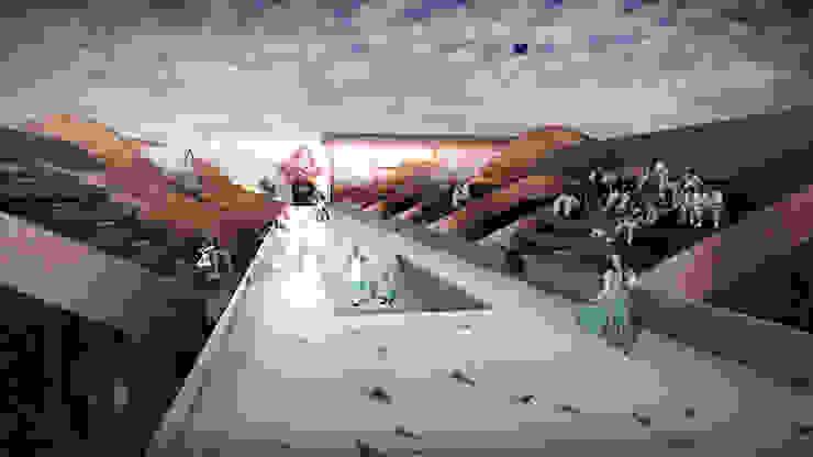 展演台 根據 亚卡默设计 Akuma Design 現代風 金屬