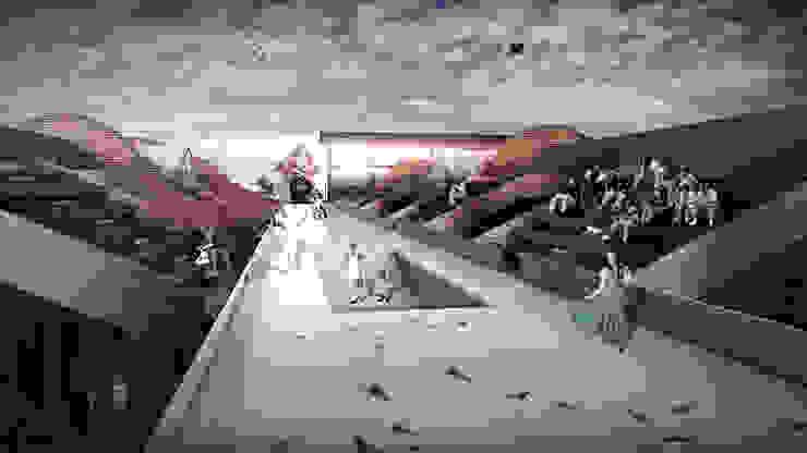 伸展台入口 根據 亚卡默设计 Akuma Design 現代風 金屬