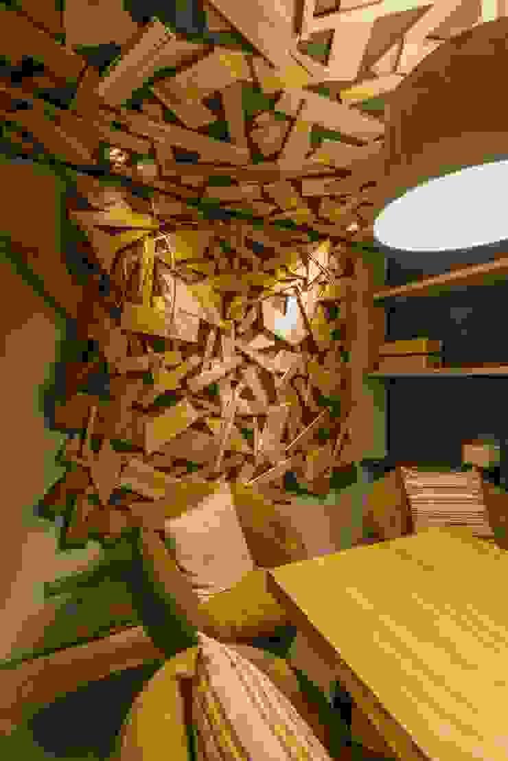 小會議室 根據 亚卡默设计 Akuma Design 工業風 水泥