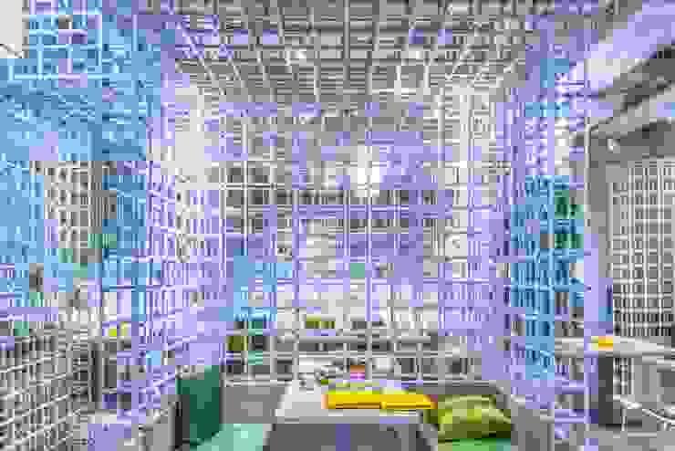 穿透感包廂 根據 亚卡默设计 Akuma Design 現代風 金屬