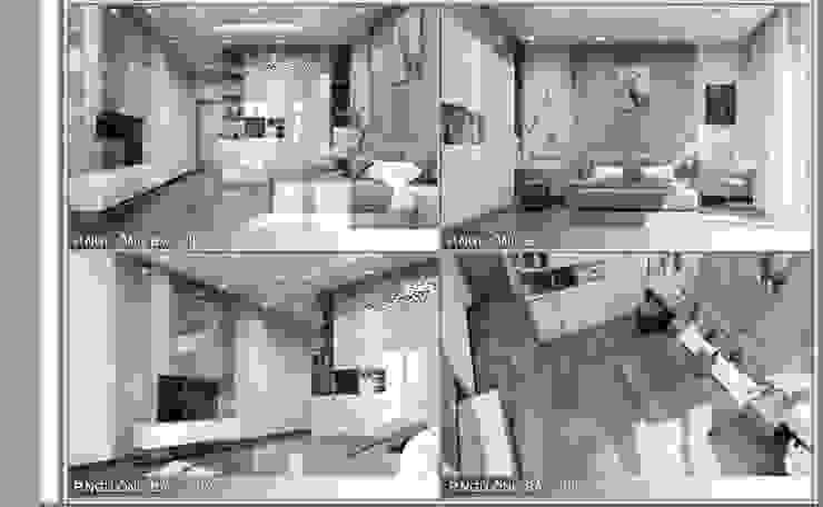 Thiết kế nội thất trọn gói nhà phố 3 thế hệ – 3 phòng ngủ (Anh Tuyền – Q.12) Phòng ngủ phong cách hiện đại bởi Công ty TNHH Nội Thất Mạnh Hệ Hiện đại
